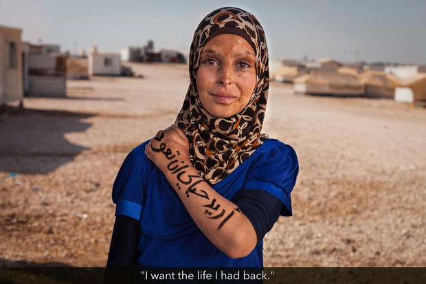 Portraits of strength: Syrian refugees