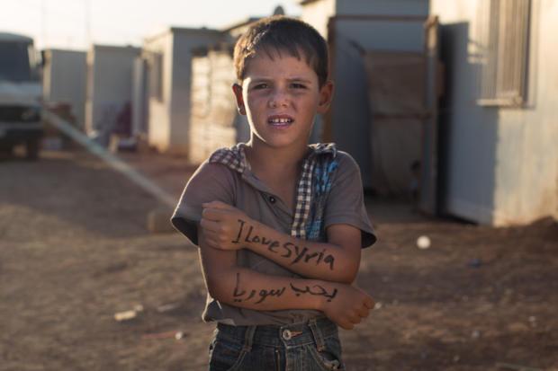 Portraits of strength: Syrian refugees