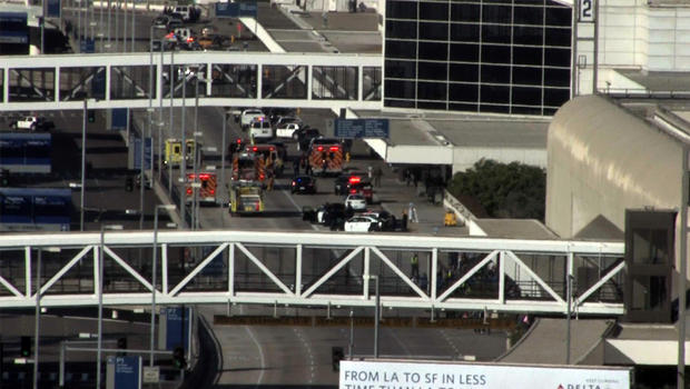 Shooting at LAX