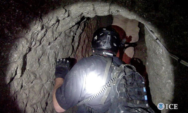 Massive smuggling tunnel in San Diego