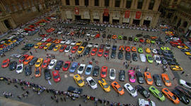 Lamborghini owners celebrate 50 years