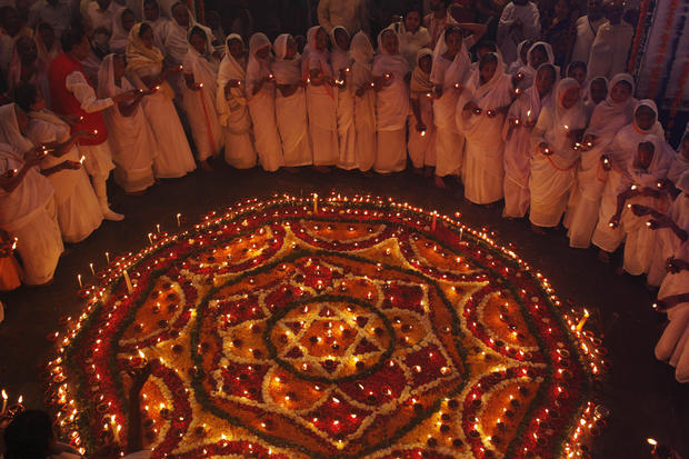 Hindus celebrate festival of light