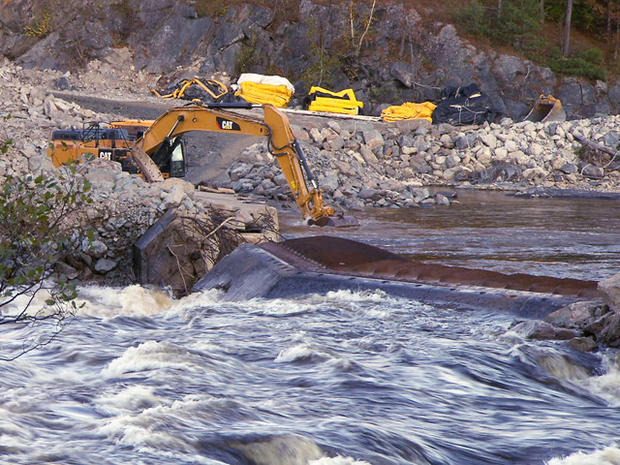 被称为该国最大的河流恢复项目,花了10年才使佩诺布斯科特河回归自然状态。