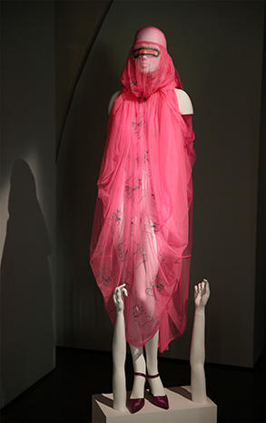 Groundbreaking fashion on display