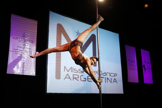 South America's top pole dancers compete