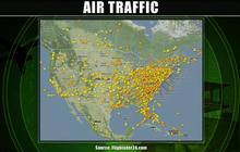 Heavy rain and snow causing flight delays and cancellations