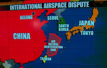 U.S., Japan, and S. Korea challenge China on new air defense zone