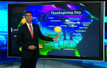 Weather expected to improve for Thanksgiving