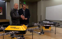 Amazon's Jeff Bezos looks to the future