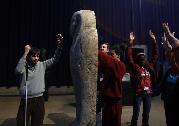 Museum offers tours for the blind