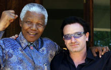Bono discusses Nelson Mandela's wisdom and courage