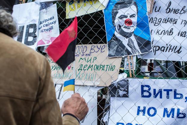 Kiev protests continue