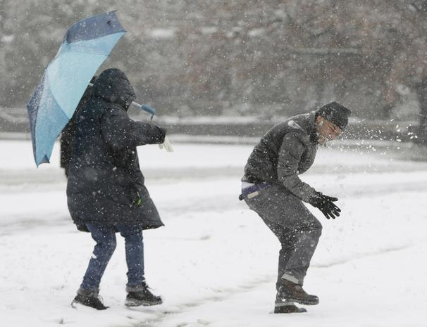 Snow causes closures and cancellations