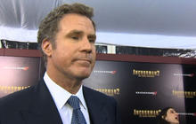 """Will Ferrell, """"Anchorman 2"""" co-stars bring laughs to N.Y. premiere"""