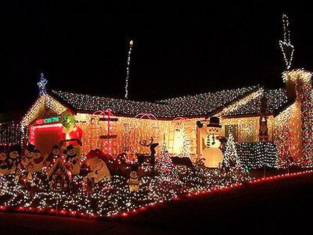 Somerville Christmas Lights Tour Map