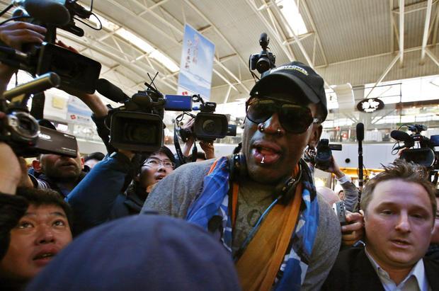 Dennis Rodman is back in North Korea