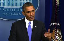 Obama defends 2013 job performance