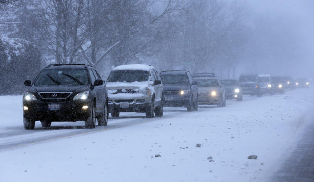 First major winter storm of 2014