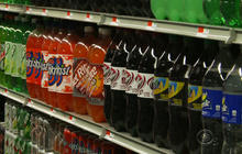 Water muscling in on the soda industry