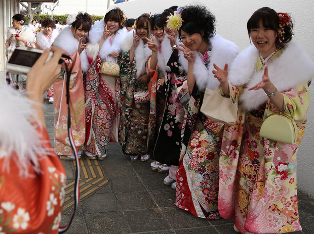 Coming of age in Japan
