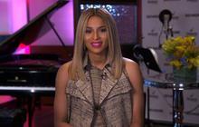 Ciara on pregnancy, upcoming album