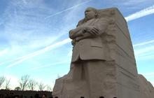 Wreath laid on MLK Day