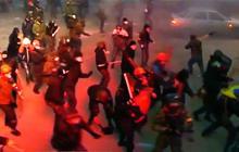 Violence escalates at Ukraine anti-government protests