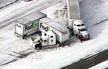 Snowstorm brings East Coast to standstill