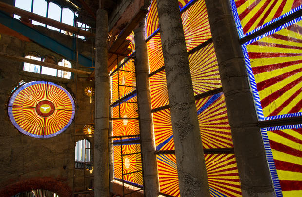 A DIY cathedral in Spain