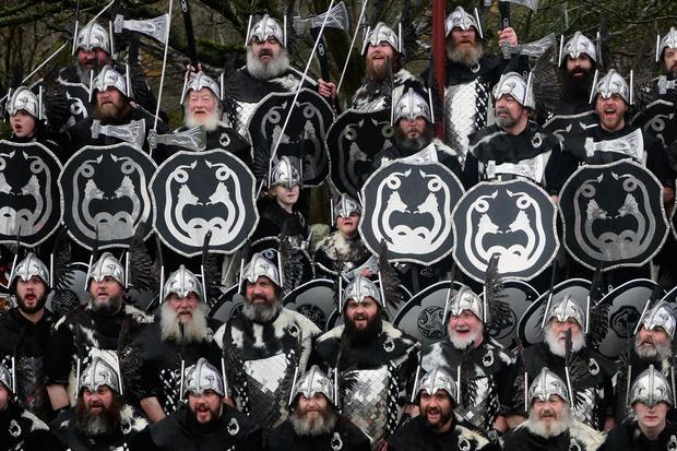 Scotland's festival of fire