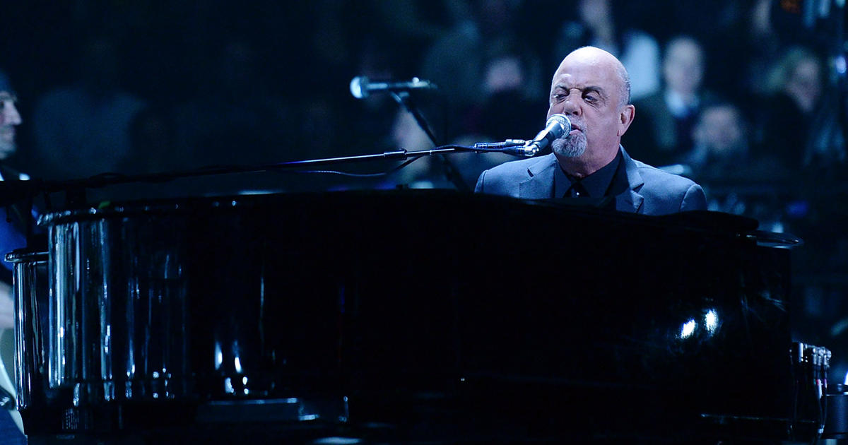 Billy joel begins madison square garden residency cbs news for Billy joel madison square garden march 3
