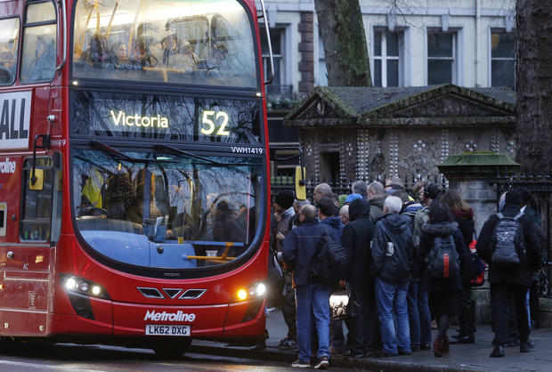 Commute chaos for Londoners
