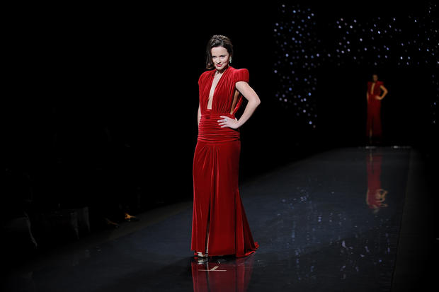 Red Dress Collection fashion show 2014