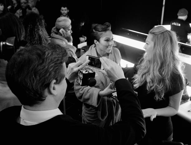 Behind the scenes at NYC Fashion Week 2014