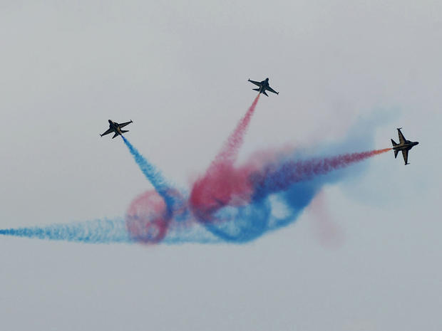 Flying high at the Singapore Airshow