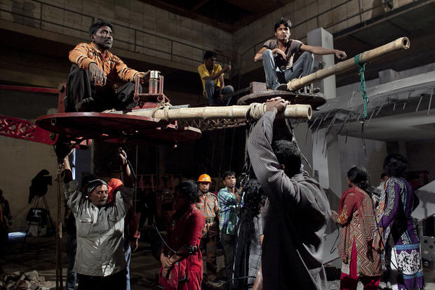 Bangladeshi film reenacts garment factory disaster