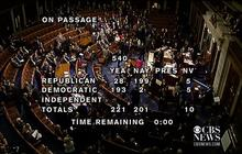 Congress votes to raise the debt ceiling