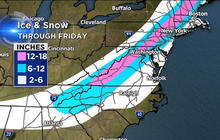 Weather forecast: Deadly winter storm hits South, heads North
