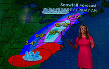 Record Nor'easter leaves behind snowy mess