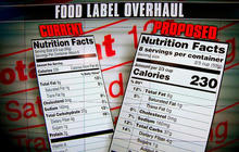 FDA unveils proposals for changing nutrition labels