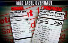 FDA unveils proposals for changing nutrition labels