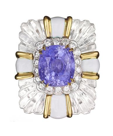 The bold jewelry of David Webb