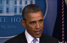 Obama issues warning against Russian military intervention in Ukraine