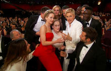 Selfies and celebration at the Oscars