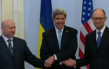 Ukraine latest: Secretary of State John Kerry to offer $1 billion loan guarantee