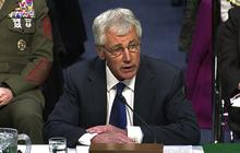 "Hagel: I ""strongly support"" Obama on Ukraine"