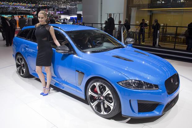 Hot wheels at the Geneva Auto Show