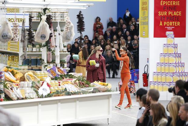 Supermarket couture