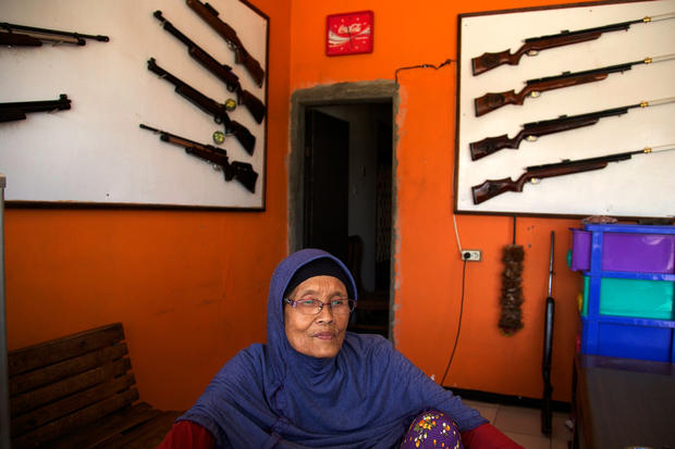 Indonesia's air gun village