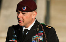 Army general accused of sexual assault confronts alleged victim in court